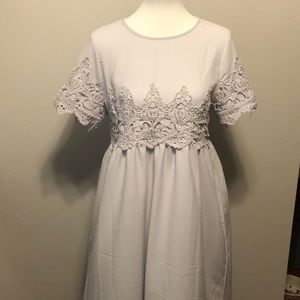Dresses & Skirts - Lilac Lace Dress